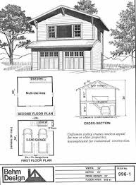 Two Story Craftsman Craftsman Style Two Story 2 Car Garage Plan 996 1 By Behm Design