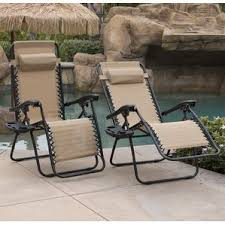 Zero Gravity Lounge Chair With Sunshade Outdoor Lounge Chairs