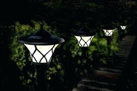 Yard Light Fixtures Tulip Landscape Lights Adding Security And Safety Deck Steps