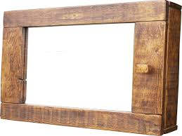 wooden bathroom cabinet mirrors home