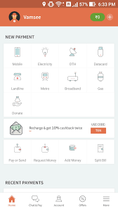 freecharge app review your personal digital wallet igadgetsworld there are many e wallets available now with complex not so user friendly design and have many irrelevant tabs but the freecharge app is not like them