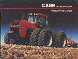 1985 case international 4wd brochure farm equipment literature