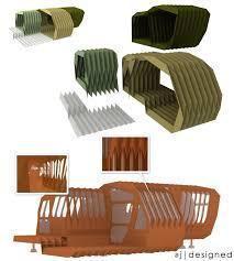 The Origami Inspired Folding Bamboo House Inhabitat Sustainable Design Innovation Eco - 32 best deployable images on pinterest architecture beautiful
