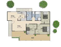 Set Design Floor Plan 150m2 3 Bed 2 Bathrooms Hi Set Design High Set House