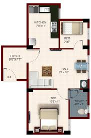 2bhk House Plans Temple Waves Floor Plan Houses In Chennai Bhk Including Great 2