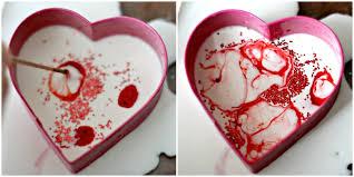 valentine u0027s day science magic milk hearts u2022 the science kiddo
