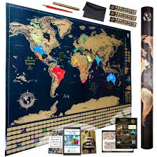 World Map Poster Large Best Rated In Wall Maps U0026 Helpful Customer Reviews Amazon Com