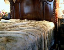 Faux Fur Comforter Queen Covering The World One Throw At A Time Fur By Bedspreadsandthrows