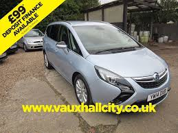 Used Flip Chip Silver Vauxhall Zafira Tourer For Sale Surrey