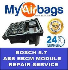 audi abs repair fits bosch 5 7 abs atc module repair rebuild service