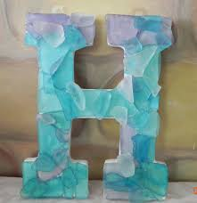 sea glass bathroom ideas definitely how we will put her name in the room sea glass letters
