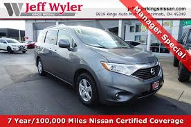 nissan quest cargo used 2017 nissan quest cincinnati louisville columbus