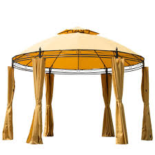 15 X 15 Metal Gazebo by Gazebo The Garden And Patio Home Guide