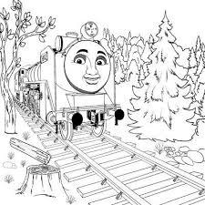 thomas tank engine coloring pages hiro cartoon coloring