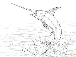 fish outline coloring page jumping fish coloring pages coloring home
