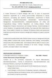 Sample Human Resource Resume by Human Resources Resume Examples Human Resources Manager Resume