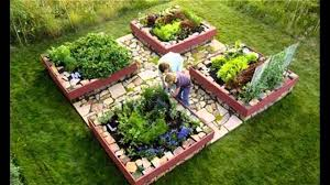 garden ideas raised bed vegetable gardening youtube