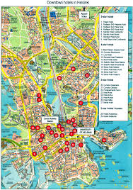 Downtown Seattle Map by Helsinki Finland Tourist Map Helsinki Finland U2022 Mappery