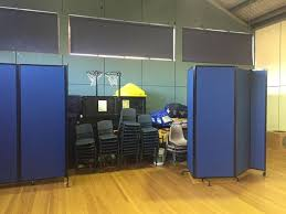 portable room dividers used as privacy screens to hide unsightly