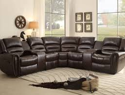 stylish recliner sofa furniture create your living room with cool sectional