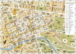 melbourne tram map melbourne and tram map melbourne australia mappery