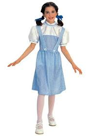 Toto Halloween Costume Dorothy Wizard Oz Country Gingham Dress Halloween Child