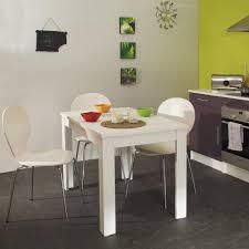 table de cuisine contemporaine table de cuisine rectangulaire contemporaine blanche daliane table