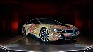 Bmw I8 Wrapped - the bmw i8 futurism edition is an avant garde sports car wrapped