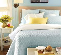 Light Blue Beige White Bedroom With Light Wood Furniture by Bedroom Interactive Picture Of Blue Bedroom Decoration Using
