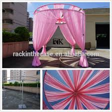 wedding backdrop curtains for sale on sale used event backdrop stand wedding mandap pillar decoration