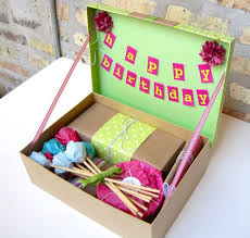 best 25 birthday box ideas on diy birthday box