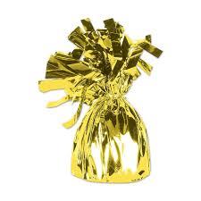balloon weights balloon weights 6 2 oz gold foil balloon weight