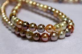 colored pearls necklace images June 2014 hong kong gem show day 3 jpg