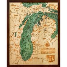 Map Of The United States Great Lakes by Below The Boat Lake Michigan