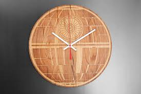 star wars engraved wood clocks this one a long time you will