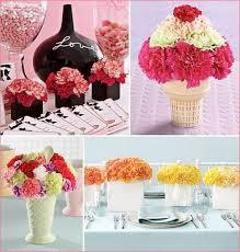 Carnation Flower Ball Centerpiece by Carnation Wedding Ideas For Centerpieces Flower