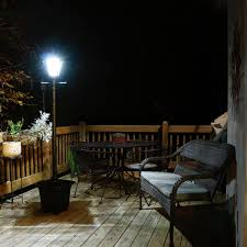 Madison Solar Lamp Post Planter solar lamp post with planter uk hankodirect decoration