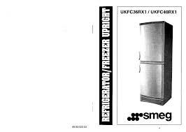 smeg refrigerator ukfc40rx1 user guide manualsonline com