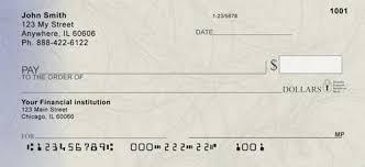filigree personal bank checks