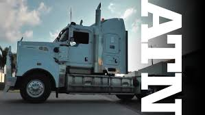 trade trucks kenworth cummins powered kenworth t909 road train review truck tv