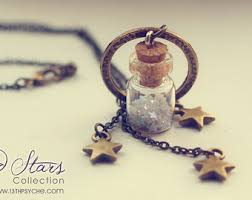 glass star pendant necklace images I really like this jewelry quot pinterest bottle necklace jpg