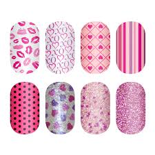 incoco valentines day 2013 collection nail polish strips jpg