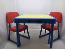 Kids Table And Chairs With Storage Fisher Price Table And Chairs Ebay