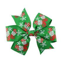 christmas hair accessories aliexpress buy christmas hair bow baby girl hair
