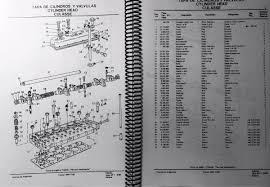 manual de repuestos tractor massey ferguson 1195 s s2 s4 l 600