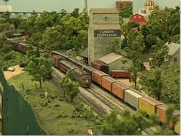 layout tour of tony bowen s n scale rock island lines
