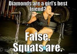 Squat Meme - katie hogan squat quickmeme