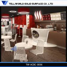 tw coffee shop furniture led bar counter onyx back lit bar buy