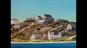 cottages of old cape cod by artist kenneth hawkey truro and