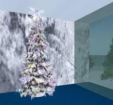 second marketplace snow tree top shine arbol
